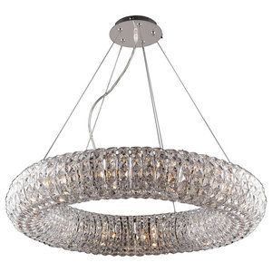 Fiorano Crystal Pendant Light, Large