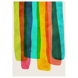 Gravity Framed Fine Art Print, 48x65 cm