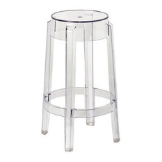 wholesale interiors bettino clear acrylic counter stools set of 2 bar stools and