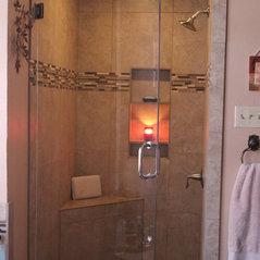 acrylic shower door