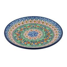 "Polmedia Polish Pottery 8"" Stoneware Plate"