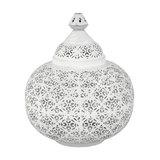 Moroccan Lantern Table Lamp, Large
