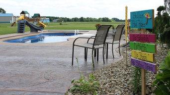 Jones Family Fiberglass Pool