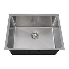 polaris sinks polaris sinks stainless steel single bowl 34 radius kitchen sink. Interior Design Ideas. Home Design Ideas