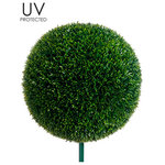 silk plants direct silk plants direct outdoor tea leaf ball topiary pack of 2