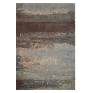 Calvin Klein Luster Wash Rug, Slate, 91x152 cm