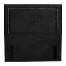 Victoria Floor Standing Headboard, Hercules Black, UK King