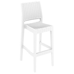 Tropical Outdoor Bar Stools And Counter Stools by Compamia