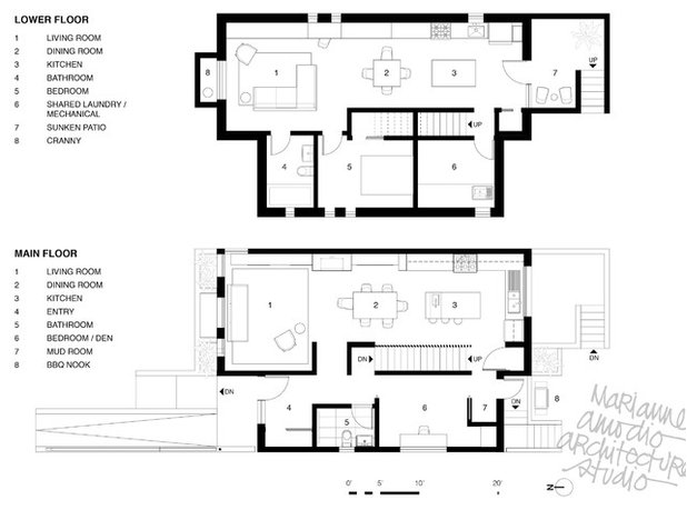 Contemporary Floor Plan MAD House