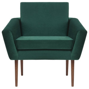 Supernova Lounge Chair, Hunter Green