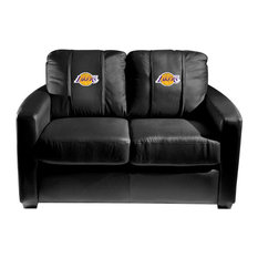 Los Angeles Lakers NBA Silver Love Seat