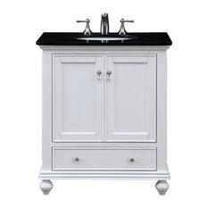 "Otto 30"" Single Bathroom Vanity Set, White"
