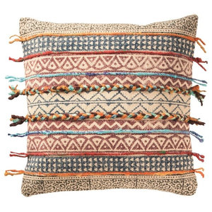 Global Fusion Cushion, Stripes, Cover Only
