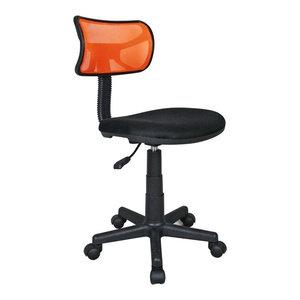 Student Mesh Task Office Chair, Orange