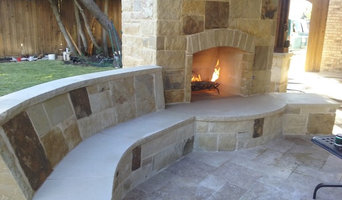 Outdoor Living Fireplace