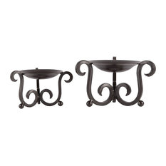 Candelaria Set of 2 Pillar Holders