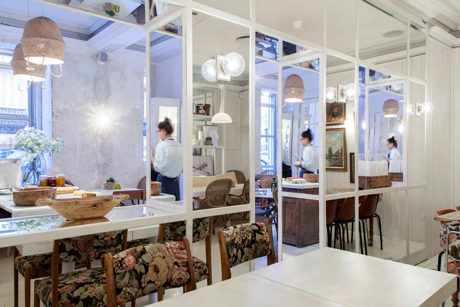 Restaurante Dray Martina, proyecto: ¨Madrid in Love""
