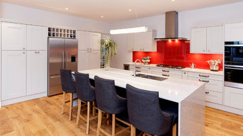 A Highbury fitted kitchen for the Wainwright family. Sophisticated shaker style