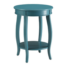 Aberta Side Table, Teal