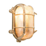 Wall/Ceiling Lamp Nautica 2 Oval Gold