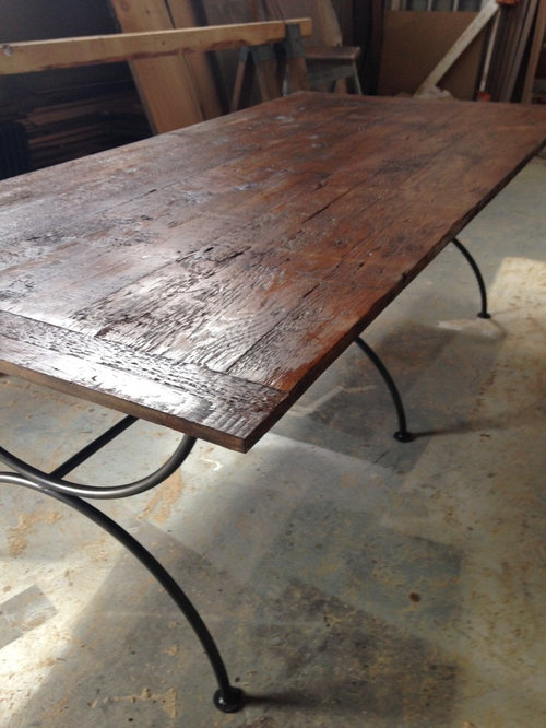 Reclaimed Barnwood Table Top Custom Made To Order   Products
