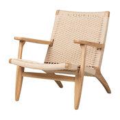 PaperCord Easy Chair, Plain Oak