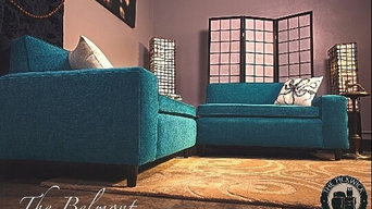 The Belmont is our First Custom Built Mid-Century Style Sectional.