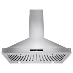 Modern Range Hoods And Vents by AKDY Home Improvement