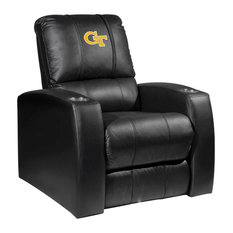 Georgia Tech Yellow Jackets Collegiate Relax Recliner With  Block GT Logo