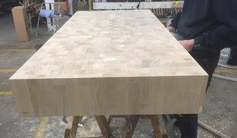 16cm massiv endetræsbordplade i FSCcertificeret eg