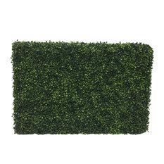 "Green Boxwood Hedge L36""xw12""xh24"" UV"
