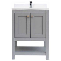 Transitional Bathroom Vanities And Sink Consoles by AGM Home Store, LLC