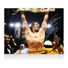 Sylvester Stallone 'Rocky Balboa' Signed Autograph Photo