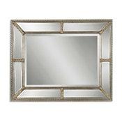 Lucinda Antique Silver Mirror