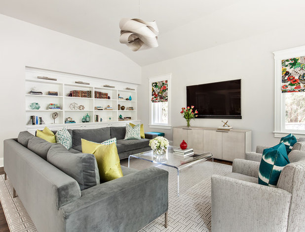 New This Week: Mixing Pattern in Living Rooms