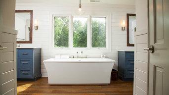 Carmel Master Bathroom Remodel, Porch Remodel, Master Bedroom and Office Updates