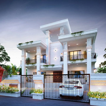 3D Architectural Rendering For Traditional Design