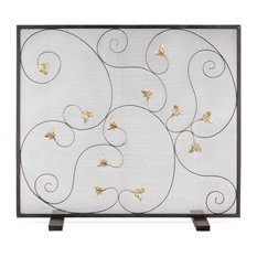 Acanthus Leaf Fireplace Screen