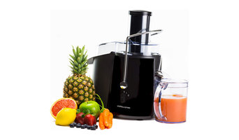Andrew James Power Juicer BLACK
