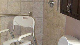 Handicap Bathroom Remodel