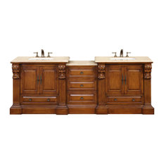 "95"" Traditional Double Bathroom Vanity"