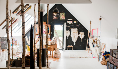 France Houzz Tour: A Textile Artist's Home-Workshop