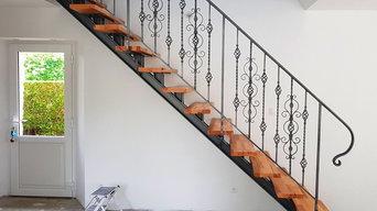 Escaliers Avec motif a souder