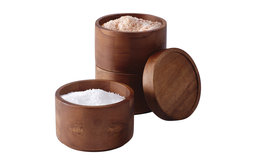 Tools And Gadgets Wooden 3-Tier Stacking Salt Box