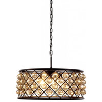 Urban Classic 1214D25MB-GT/RC Madison 6-Light Chandelier