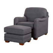 Magean Stationary Chair and Ottoman