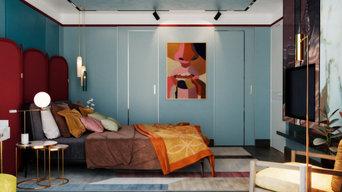 Дизайн проект квартиры на Бытхе, 70 кв м.