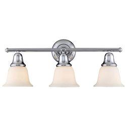 Transitional Bathroom Vanity Lighting by VirVentures