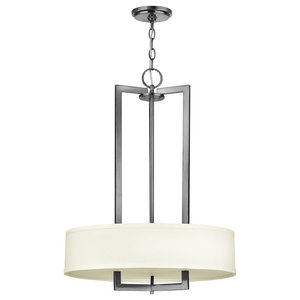 Hampton Transitional 3-Light Pendant Chandelier