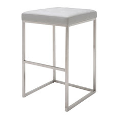 Brushed Steel Contemporary Bar Stools Amp Counter Stools Houzz